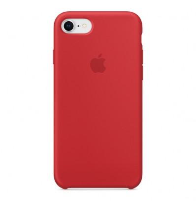 FUNDA APPLE IPHONE 8 SILICONE CASE RED-ZML