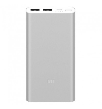BATERIA MOVIL XIAOMI POWERBANK 2S 10000 PLATA