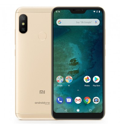 MOVIL XIAOMI MI A2 LITE 4GB 64GB DORADO
