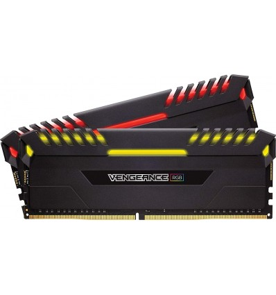 MEMORIA CORSAIR 16GB DDR4 3200 (2X8GB)RGB NEGRA