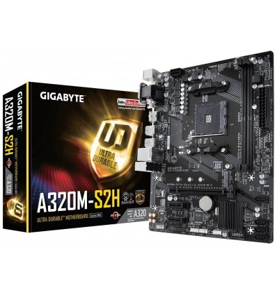 PLACA BASE GIGABYTE A320M-S2H SOCKET AM4