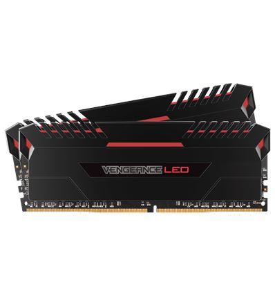 MEMORIA CORSAIR 32GB DDR4 3000 (2x16GB) RED LED - ME04CO10