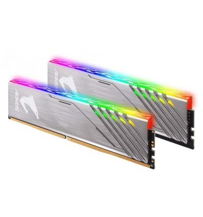 MEMORIA GIGABYTE 16GB DDR4 3200 (2x8) AORUS RGB