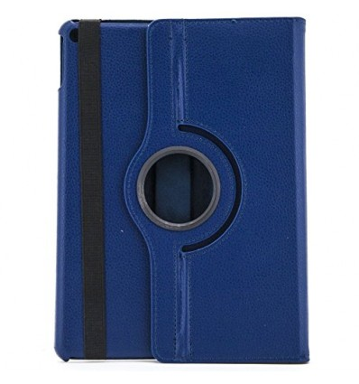 FUNDA X-ONE PIEL ROTACION IPAD 6 AIR 2 AZUL