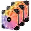 VENTILADOR CORSAIR HD120 RGB LED 3 VENTILADORES