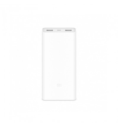 BATERIA MOVIL XIAOMI POWERBANK 2C 20000 WHITE