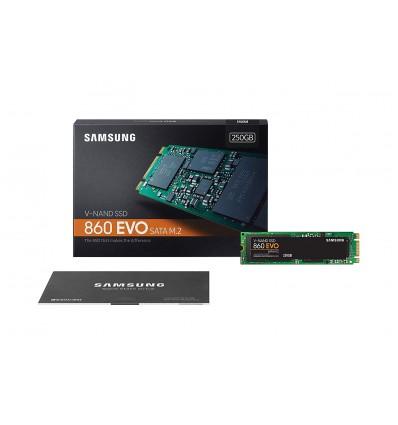 DISCO SSD SAMSUNG 250GB 860 EVO M.2 MZ-N6E250BW
