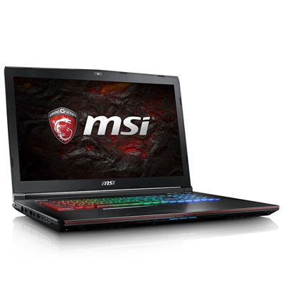 PORTATIL MSI GE72-084XES I7 7700 16GB 256SSD+1TB - PO17MS60