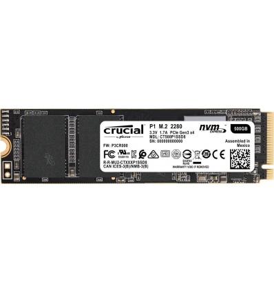 DISCO SSD CRUCIAL 500GB P1 M.2 CT500P1SSD8