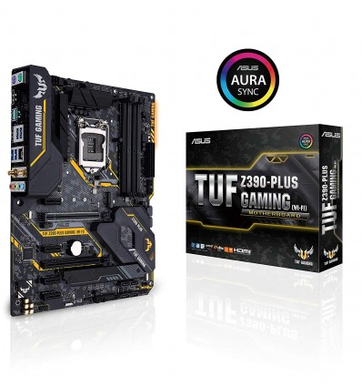 PLACA BASE ASUS TUF Z390-PLUS GAMING (WI-FI)