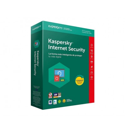 ANTIVIRUS KASPERSKY 2018 INTERNET SECURITY 10 LIC