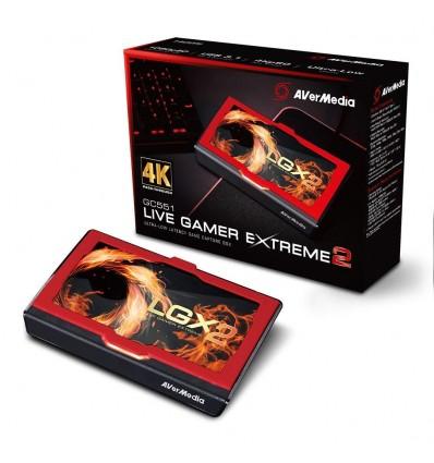 CAPTURADORA VIDEO AVERMEDIA LIVE GAMER EXTREME 2