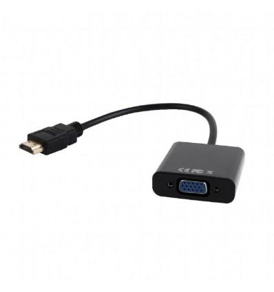 ADAPTADOR HDMI A VGA GEMBIRD A-HDMI-VGA-003