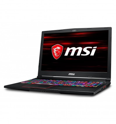 PORTATIL MSI GE63 8SF-031XES I7 8750 16GB 512SSD+1