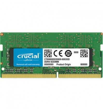 MEMORIA CRUCIAL 16GB DDR4 SODIMM 2666 CT16G4SFD826