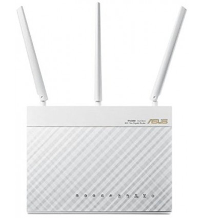 ROUTER ASUS RT-AC68U DUAL-BAND WIRELESS WHITE