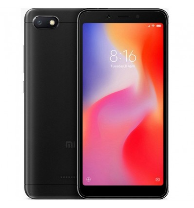 MOVIL XIAOMI REDMI NOTE 6A 2GB 16GB NEGRO