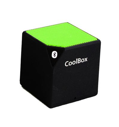 ALTAVOZ COOLBOX CUBE VERDE BLUETOOTH - AL04CB06-1