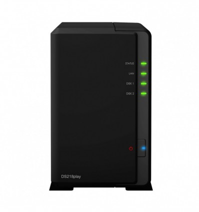 Synology DS218 Play - Servidor NAS + Discos