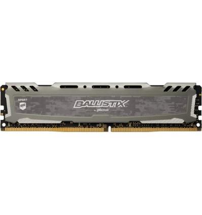 MEMORIA CRUCIAL 8GB DDR4 3000MHZ BLS8G4D30BESBK