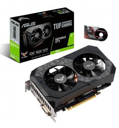 GRAFICA ASUS TUF GTX1660 6GB TUF-GTX1660-O6G