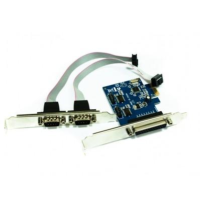 TARJETA PCI-XPRESS 2 SERIE 1 PARALELO APPPCIE1P2S