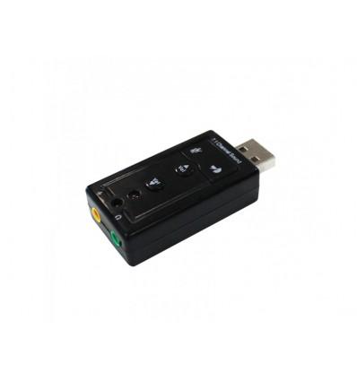 TARJETA DE SONIDO APPROX APPUSB71 - USB 7.1