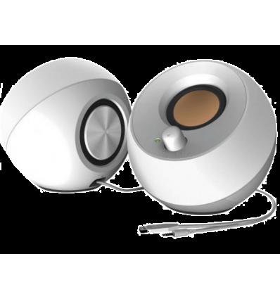 ALTAVOCES CREATIVE PEBBLE 2.0 USB BLANCO