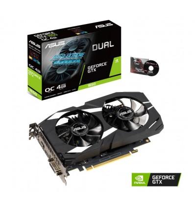 GRAFICA ASUS DUAL GTX 1650 4GB OC