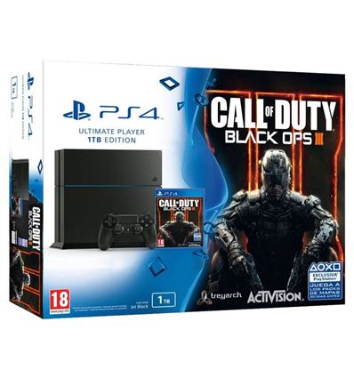 CONSOLA SONY PLAYSTATION PS4 1TB + BLACK OPS III - VD03SO01
