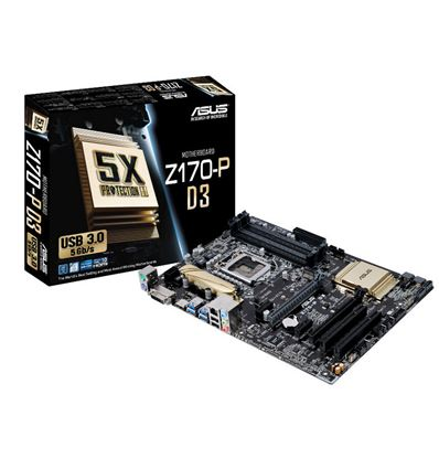 PLACA BASE ASUS Z170-P D3 SOCKET 1151 DDR3 - PB01AS53