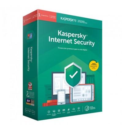 ANTIVIRUS KASPERSKY 2020 INTERNET SECURITY 1PC
