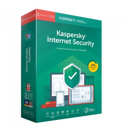 ANTIVIRUS KASPERSKY 2020 INTERNET SECURITY 3PC