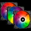 VENTILADOR CORSAIR ICUE SP120 RGB PRO PACK X3