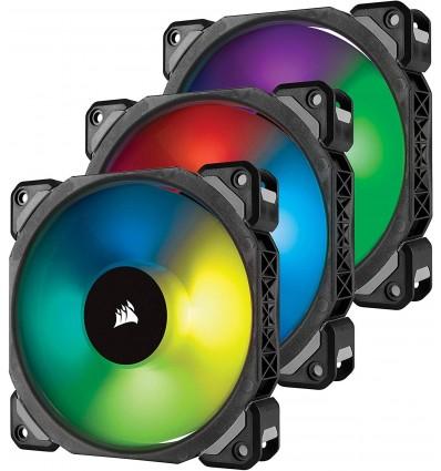 Corsair ML120 PRO RGB - Pack 3 ventiladores para caja