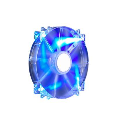 VENTILADOR CM MEGAFLOW 200X200X30 LUZ AZUL - VN02CM06