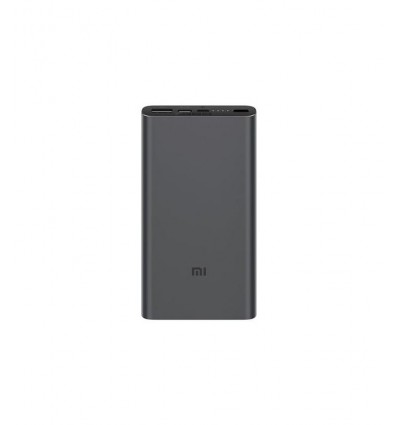 BATERIA MOVIL XIAOMI FAST CHARGE 18W 10000 NEGRO