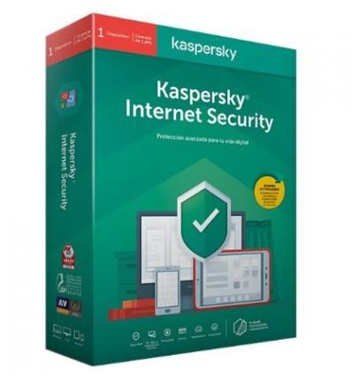 ANTIVIRUS KASPERSKY 2020 INTERNET SECURITY MULTI 1
