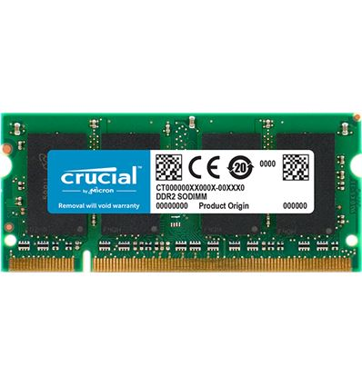 MEMORIA CRUCIAL 2GB DDR2 800 SODIMM - ME03CR10