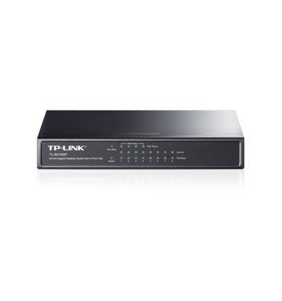 SWITCH TP-LINK 8 PUERTOS TL-SG1008P 4 POE - SW02TP08