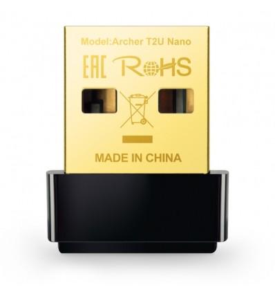 TARJETA TP-LINK ARCHER T2U NANO USB AC600