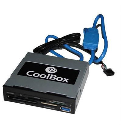 LECTOR TARJETAS COOLBOX CR430 INTERNO USB 3.0 - LT01CB02