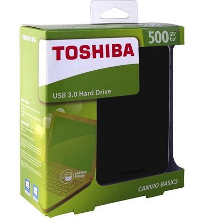 DISCO DURO TOSHIBA STOR.E BASIC 500GB EXTERNO USB - HD04TO01
