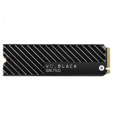 Western Digital Black SN750 NVMe 2TB Disipador Térmico