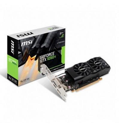 MSI GeForce GTX 1050 Ti 4GT OC 4GB LP - Gráfica
