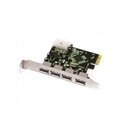 Tarjeta APPROX PCIE 4 puertos USB 3.0 APPPCIE4