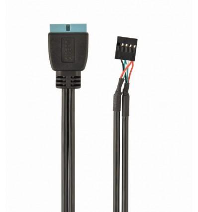 Cable USB 2.0 a USB 3.0 30 cm.