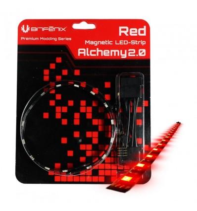 Tira LED magnética Bitfenix 30cm. Rojo