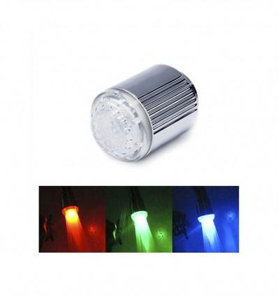 Filtro LED de colores para grifo Unotec