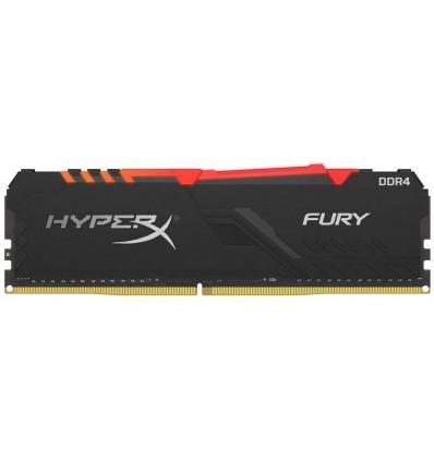 Kingston HyperX Fury 16GB DDR4 2666 MHz RGB - Memoria RAM